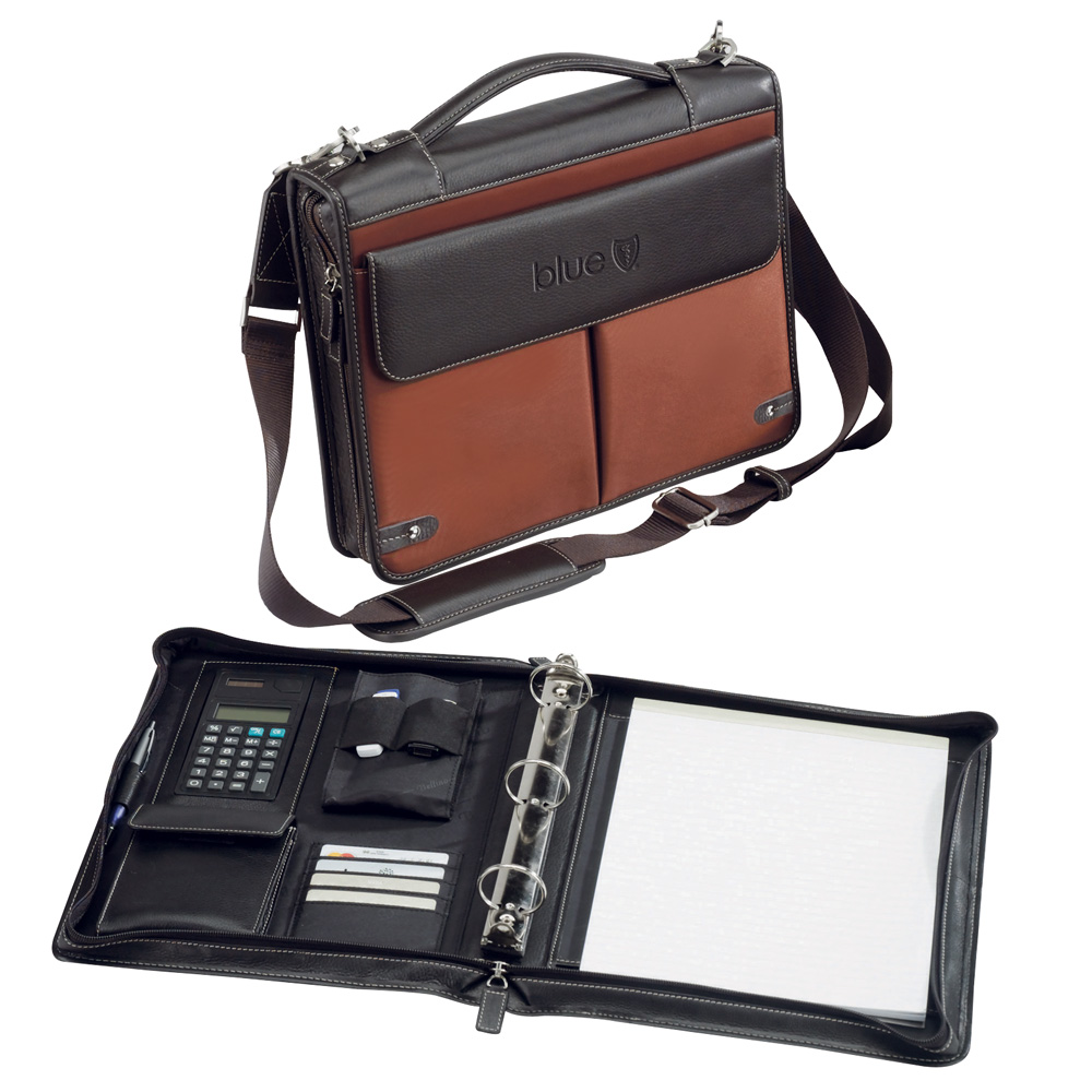 The Londoner (DELUXE ZIPPERED PADFOLIO W/3-RING BINDER