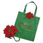 Super Shape Totes - Poinsettia