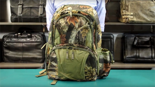 P3522 Camo Backpack