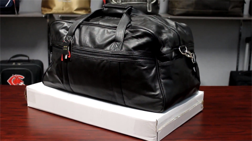 P6205 Leather Duffle