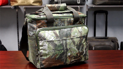 P7655 24 Pack Camo Cooler